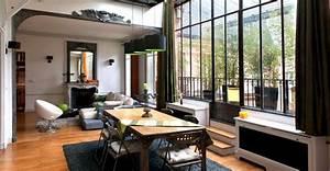 Deco Industrielle Atelier : d co appartement style atelier ~ Teatrodelosmanantiales.com Idées de Décoration