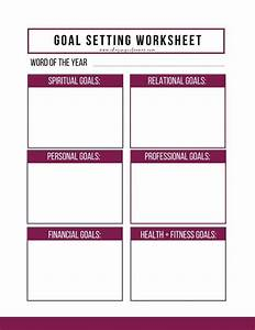 health and fitness goals worksheet all photos fitness