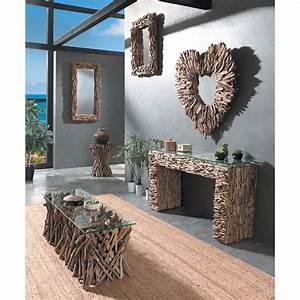 Table Basse En Bois Flotté : table basse en bois flott naturel petit prix ~ Preciouscoupons.com Idées de Décoration