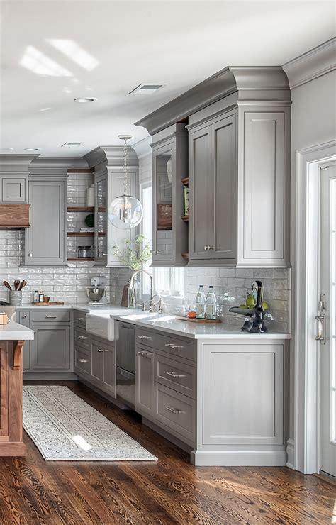 Gray Home Design Ideas by Grey Kitchen Design Home Bunch Interior Design Ideas