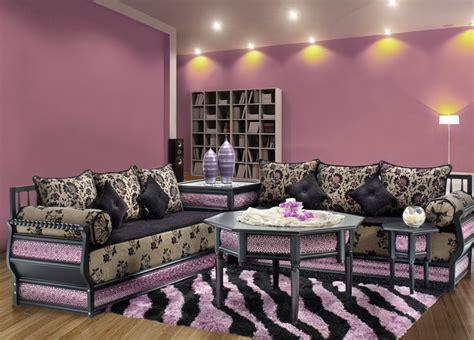 peinture pour tissus canapé avoir un salon moderne avec un design marocain