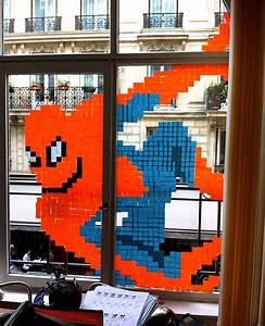 Post It Art : check out the amazing post it note office art ~ Frokenaadalensverden.com Haus und Dekorationen