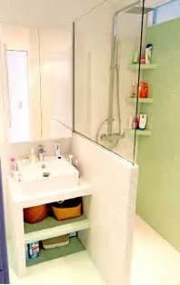 muret salle de bain plan vasque 224 faire soi m 234 me en b 233 ton bois carrelage