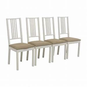 Ikea Weiße Stühle : 30 aus ikea ikea wei mit tan gepolstert essen ~ Watch28wear.com Haus und Dekorationen