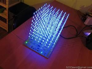 Led Cube 8x8x8 On Atmega16
