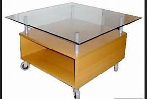 Table De Salon Ikea : table basse ikea val doise ~ Dailycaller-alerts.com Idées de Décoration