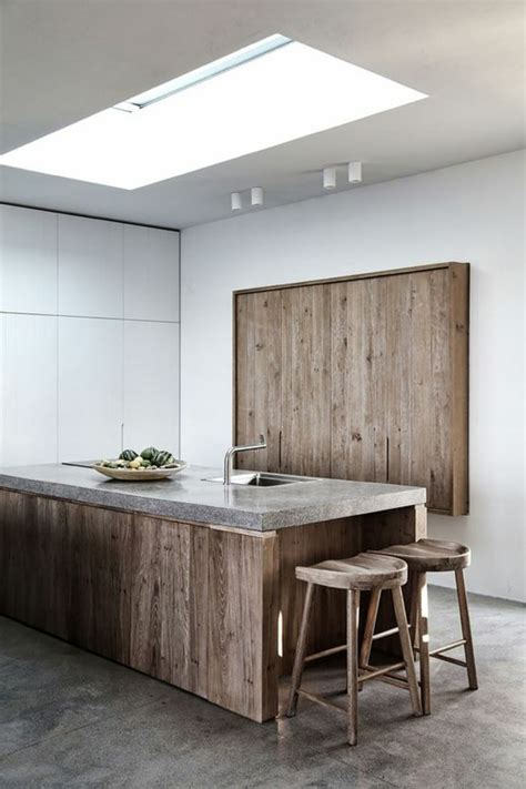 cuisine bois beton cuisine bois beton cire wraste com