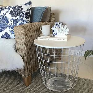 diy wire basket coffee table diy do it your self With metal basket coffee table