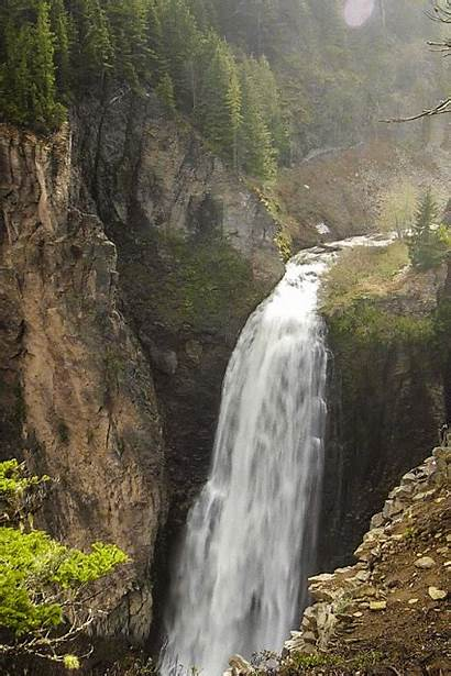 Waterfalls Gifs Water Waterfall Cliff Nature Places