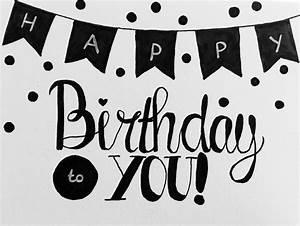 Simple Graffiti Happy Birthday Letters 25+ Best Ideas