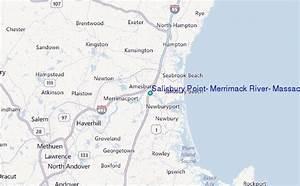 Salisbury Point Merrimack River Massachusetts Tide