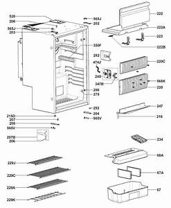 Dometic Rms8550 Refrigerator  Housing Parts