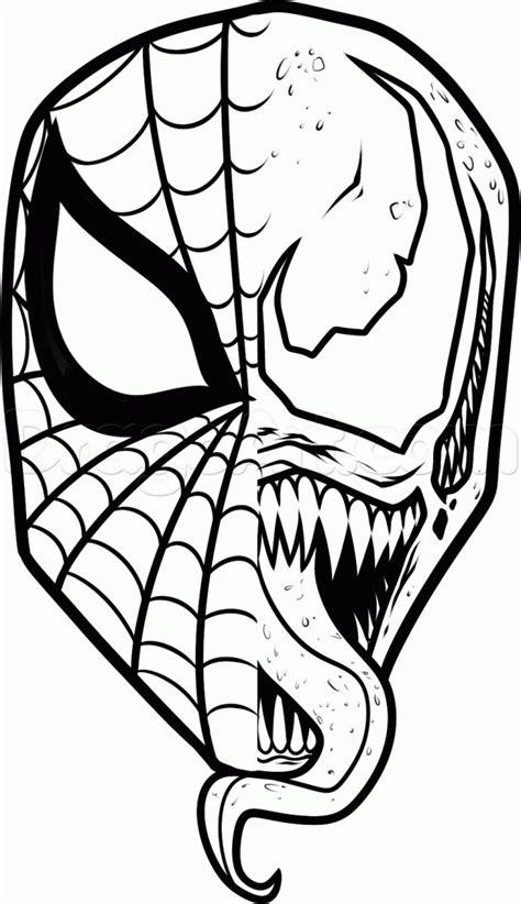 venom coloring pages    venom coloring