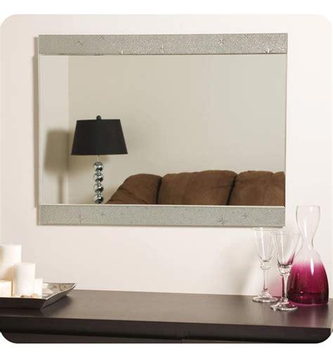 Decor wonderland ssm501 oriana modern round wall mirror. Decor Wonderland SSM5039-111 Starlight Frameless Wall Mirror