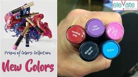 New Lipsense Colors 🌟 Prism Of Colors Collection 2018