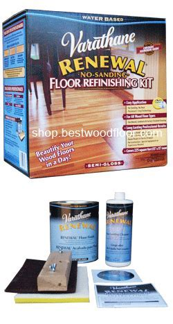Varathane Renewal Wood Floor Refinishing Kit   Sandless