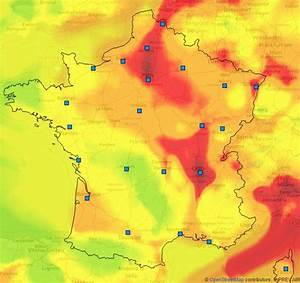 Carte France Pollution : la pollution de l 39 air s 39 tend bien au del de paris ~ Medecine-chirurgie-esthetiques.com Avis de Voitures
