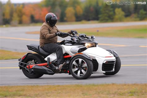 2015 Can-am Spyder F3 First Ride