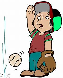 Cartoon Image Of Little Kid Playing Baseball - ClipArt Best