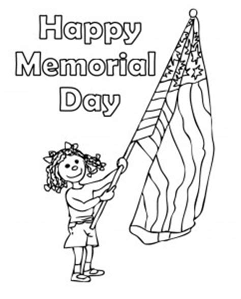 memorial day coloring pages memorial day