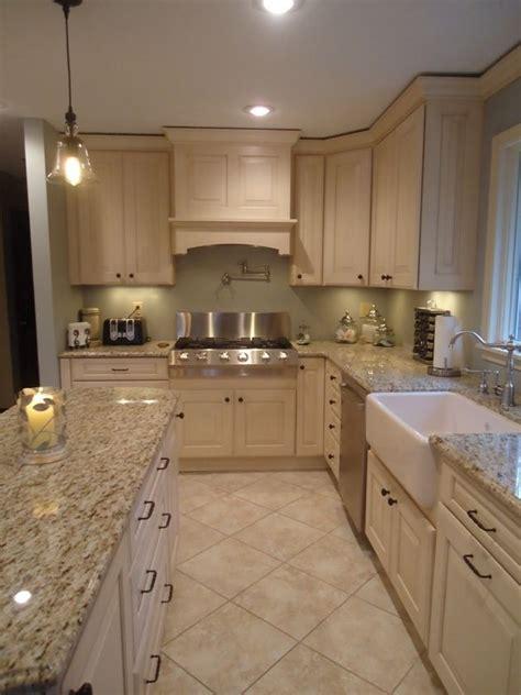 terrific cream kitchen cabinets white floors incredible