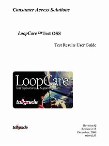 Test Results User Guide Toolgrade Pdf