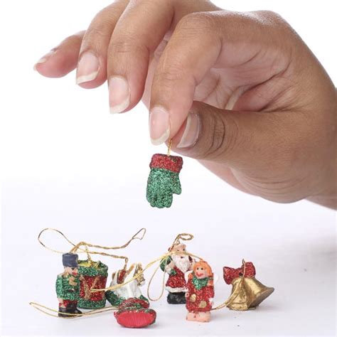 miniature christmas ornaments christmas miniatures christmas and winter holiday crafts