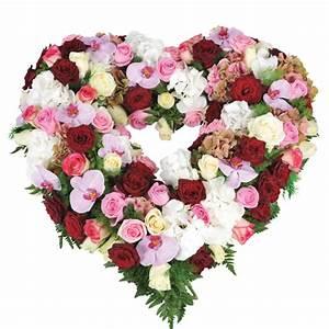fleurs rouges et blanches With affiche chambre bébé avec fleurs blanches deuil