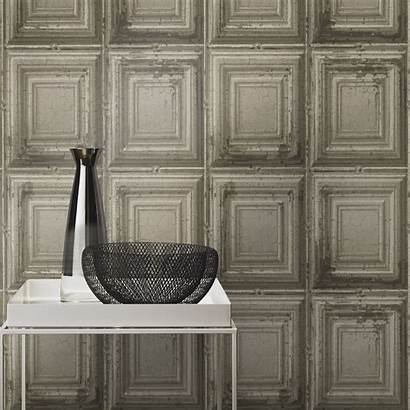 Wood Panel Panels Distressed Wall Grey Rasch
