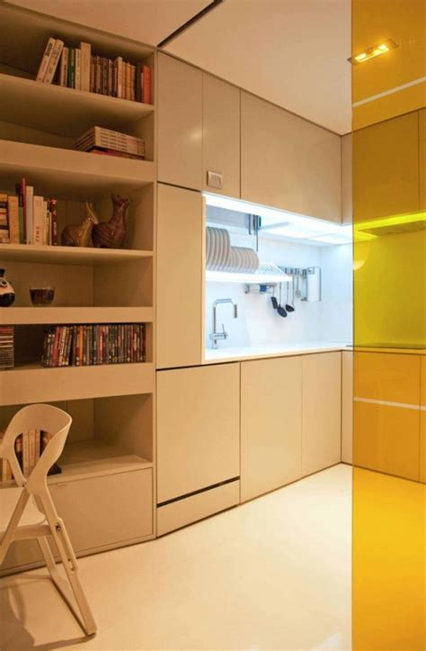 small apartment design ideas featuring clever