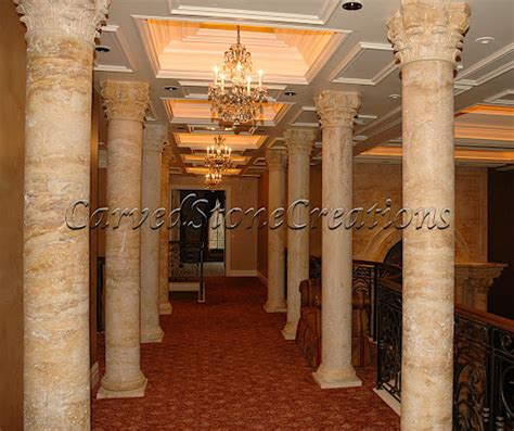 custom architectural stone pieces carved stone creations