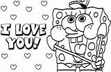 Spongebob Coloring Pages Characters sketch template
