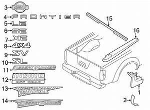 29 Nissan Frontier Tailgate Parts Diagram