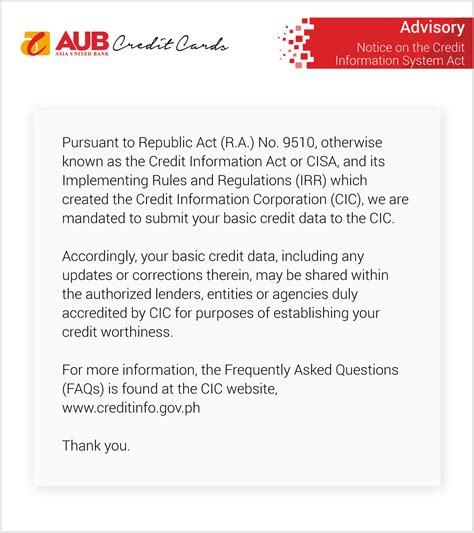 Simply request from aub's contact center to process the request. Asia United Bank: Credit Cards