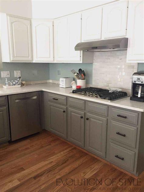 chelsea gray cabinets simply white and chelsea gray kitchen evolution of style 229