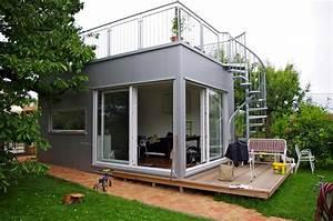Container Anbau An Haus : mini h user mikrohaus 28 qm freisitz neubau hausideen so wollen wir bauen h user und ~ Indierocktalk.com Haus und Dekorationen