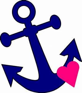 Anchor With Heart Clip Art at Clker.com - vector clip art ...