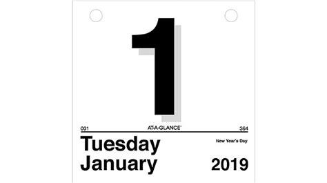 today daily wall calendar refill glance