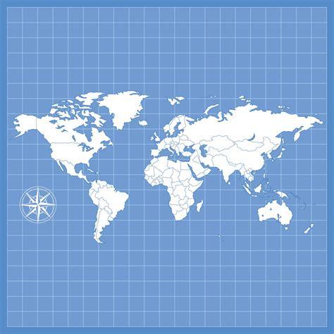 5 Best Blank World Maps Printable - printablee.com