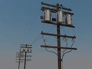 Liberscol Pole 3d : powerline utility pole 3d model realtime youtube ~ Medecine-chirurgie-esthetiques.com Avis de Voitures