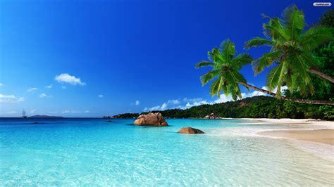 Tropical Beach Wallpaper Hd 09084 Baltana