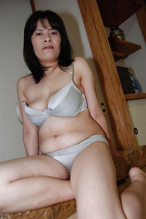 Nasty Mature Asian Yumiko Masturbating That Hairy Asian