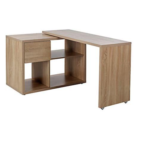 bureau d angle bois inspiration en bois