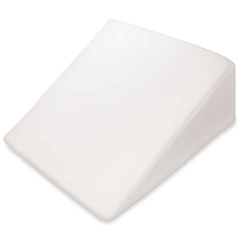 Wedge Cusion by Pharmedoc Wedge Pillow For Acid Reflux Support