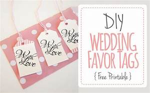 wedding favor tags quotwith lovequot luggage tag printable With wedding favors templates free printable