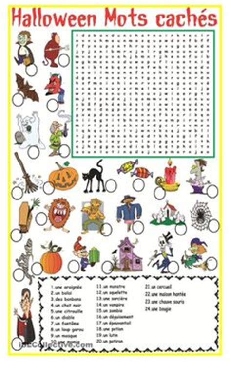 french halloween images teaching french core