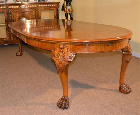 antique walnut dining table antique bur walnut queen anne style dining table c1920