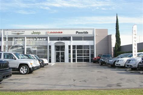 Dodge Chrysler Dealers by Penrith Jeep Chrysler Dodge Car Dealers Truelocal