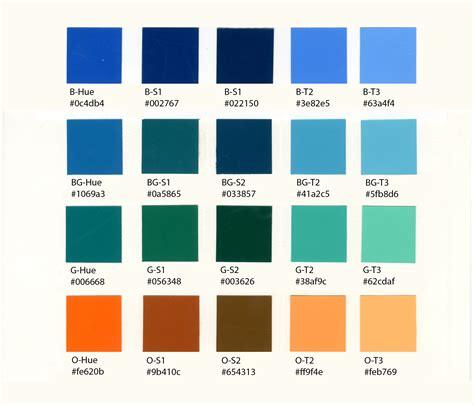 week 4 color scheme blue and some design work color talks