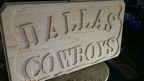 hand carved wood sign   completed   texas wood